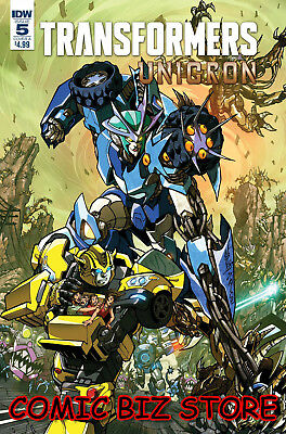 Transformers Unicron #5 (Of 6) (2018) 1St Print Milne Cover A Idw Comics ($4.99)