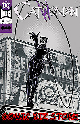 Catwoman #4 (2018) 1St Printing Jones Foil Cover Dc Universe Bagged & Boarded
