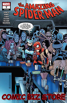 Amazing Spider-Man #7 (2018) 1St Print Ramos Main Cover Bagged & Boarded Marvel