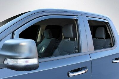 In-Channel Vent Visors for a 2019 Dodge Ram 1500 Quad Cab