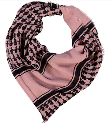 Women's Karl Lagerfeld Signature Scarf Shawl 100/% Modal Pink Large New With Tags