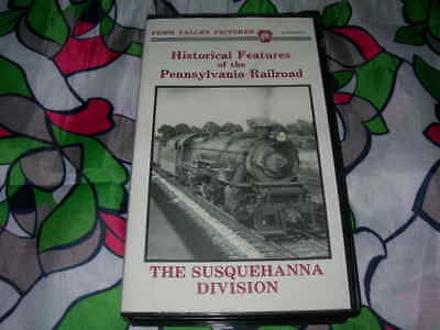 "VHS: ""Historical Features Of The Pennsylvania Railroad, Susquehanna Division"" EX"