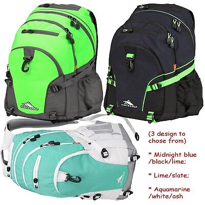 "High Sierra Loop Backpack (Large) 19"" x 13.5"" x 8.5""  NEW w Tag 3 to chose FShip"