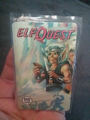 Red Lettering Misprinted Elfquest #3 Extremely Rare Phone Card: 1 Of 27