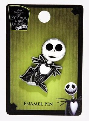 Disney The Nightmare Before Christmas Jack Skellington Enamel Pin New With Tags!