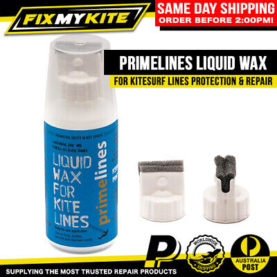 Prime Lines Kitesurf Liquid Wax Treatment Increase Strength Repair Dyneema Line