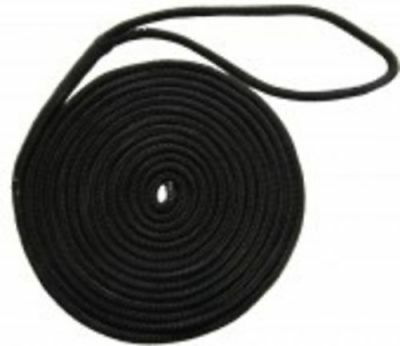 Dock line Mooring rope 10mm x 6m QUALITY Nylon Double Braid Boat Fishing Yacht