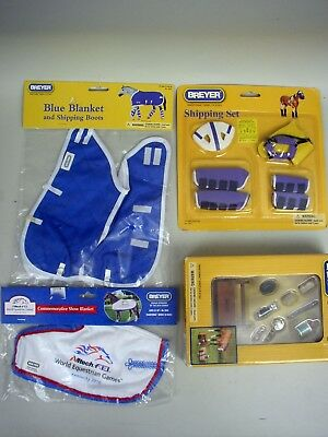 Breyer Lot of 4 Horse Accessories 1:9 Scale NRFB