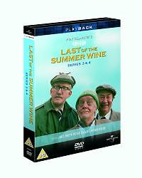 Last Of The Summer Wine - Series 3-4 - Complete (DVD, 2004, 3-Disc Set, Box Set)