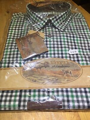 Harkila Milford Shirt Spice Check Shooting Hunting