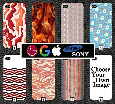Bacon Phone Case Fry Up Breakfast Funny Egg Eggs Funny Food