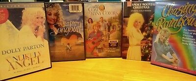 * Dolly Parton Blue Valley Songbird chasing rainbows coat of many colors DVD b26
