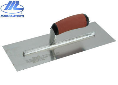 "Marshalltown MXS73SDH 14"" x 4 3/4 Plastering/Plasters Stainless Finishing Trowel"