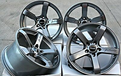 "Alloy Wheels 18"" Cruize Blade Gm Fit For Ford Transit Connect Edge Escape"