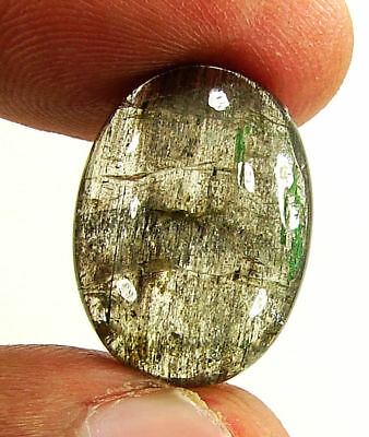 15.75 Ct Natural Scapolite Loose Cabochon Gemstone Beautiful Stone - 17557