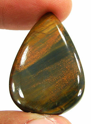 24.05 Ct Natural Golden Pietersite Loose Chatoyant Cab Gemstone Stone - 19484