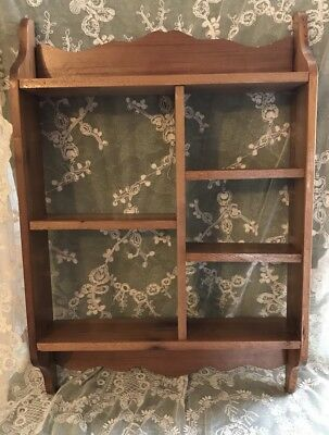"Curio SHELF 20"" X 13.5"" X 3.5"" For COLLECTIBLES"