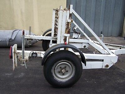Cable drum trailer SEB CD60