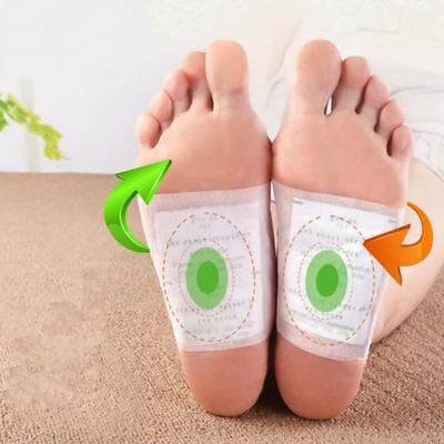 100% Effective 20pcs=(10pcs Patches+10pcs Adhesives) Detox Medical Foot Patches