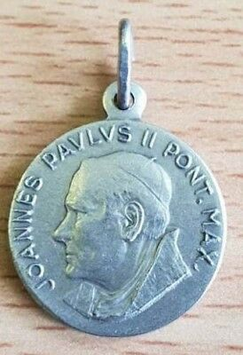Medal of Saint Pope John Paul II - from when he was Pope