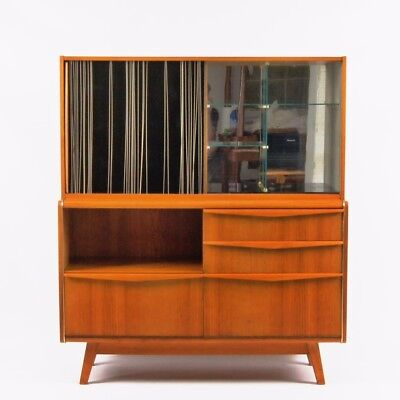 Czech Sideborad Jitona Midcentury Modern 60s 70s Furniture Scandinavian Design