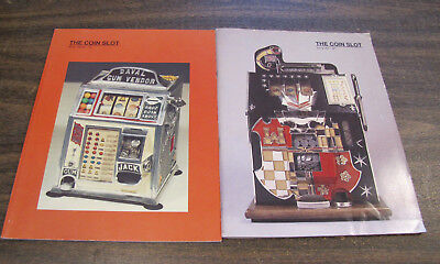 The Coin Slot Magazine - Winter 1988 / 1989 and Spring 1989 - 2 issues (Coin Op)
