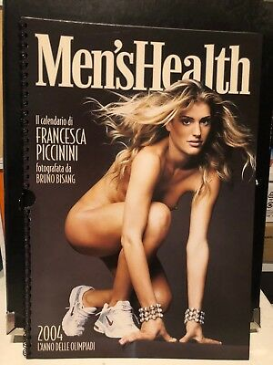 Calendario - Men's Health - Francesca Piccinini 2004 - Bruno Bisang