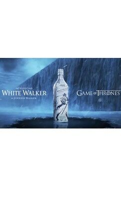 White Walker By Johnnie Walker Game Of Thrones Limited Edition Hbo Got