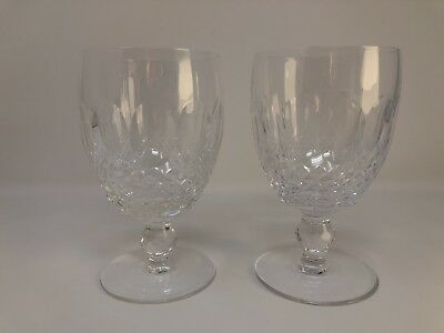 Pair of Waterford Crystal Colleen Goblets