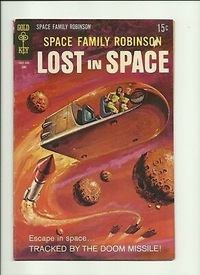 SPACE FAMILY ROBINSON (1962 Series)  (GOLD KEY) #34 Fine Comics Book