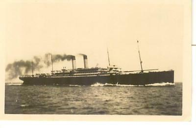 """White Star Line's four-masted CELTIC of 1901   (2"""" x 3"""" private photograph)"""