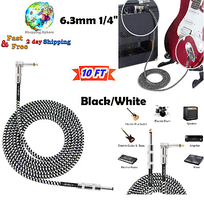 Electric Guitar Cable Cord Bass Musical Instruments Keyboard Guitars Accessories