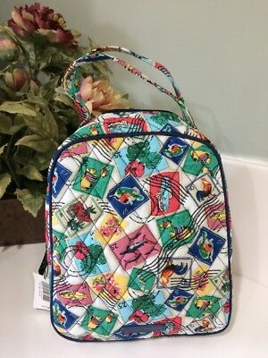 600e41bb91 VERA BRADLEY IN Cuban Stamps Lunch Bunch Lunch Bag New -  23.95 ...