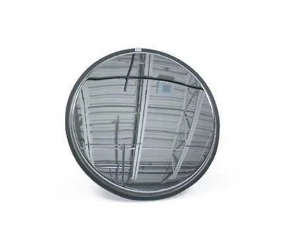 """See All SS14 Convex Mirror, Stainless Steel Face, Stainless Steel Back 14 """" Diam"""