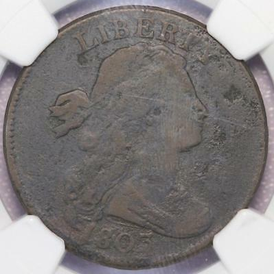 Scarce Early Large Cent small Date, Small Fraction 1803 1c Ngc Au58 Bn