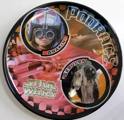 "Star Wars Anakin & Sebulba Podrace 8"" Collector Melamine Plate by Zak Designs"