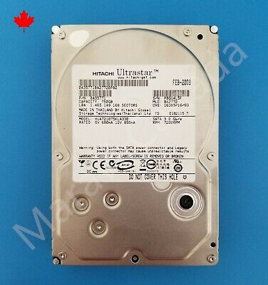 "Seagate Barracuda ES 3.5"" SATA 750GB 7200RPM ST3750641NS 7.2K Hard Drive HDD"