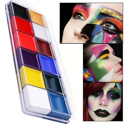 Professional Face Body Paint Oil Painting Art Make Up Christmas Party Kit Sets