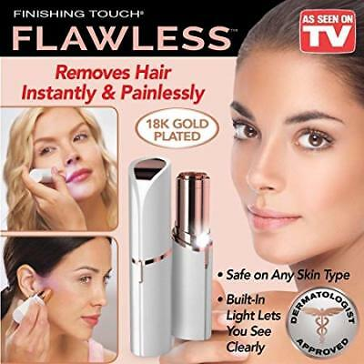 Women's Painless Face & Body Flawless Hair Removal Remover - As Seen on TV!