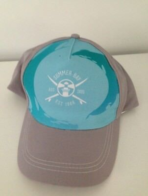 Home And Away Summer Bay Grey / Blue Cap Gift New