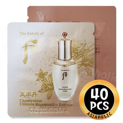 The history of Whoo Cheonyuldan Ultimate Regenerating Essence 1ml x 40pcs (40ml)