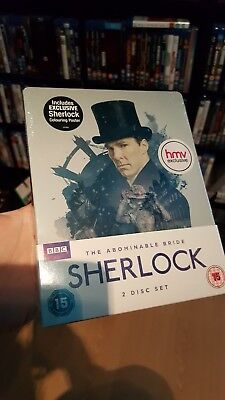 Sherlock The Abominable Bride Steelbook. (Blu-ray) HMV Exclusive. Sealed. Mint.
