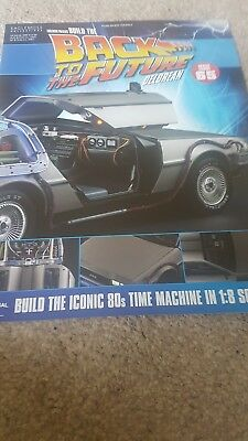 Back To The Futire Build The Delorean Issue 65