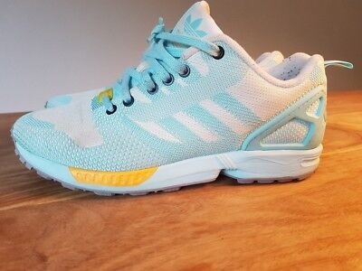 Weave Clear Adidas Flux Aqua42 23Torsion Zx Sneaker n0Nm8w