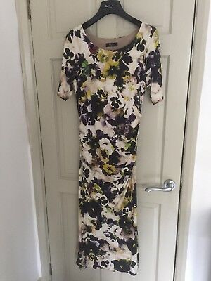 9932334c0 Paul Smith Black Label Floral Jersey Dress Size Small (8-10) Perfect  Condition