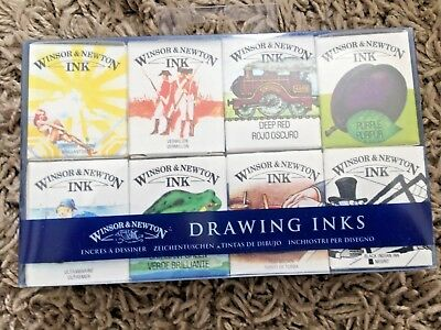 Winsor & Newton William Ink Set Collections - Drawing & Calligraphy Inks