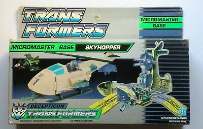 Transformers G1 Micromaster Skyhopper Boxed And Complete