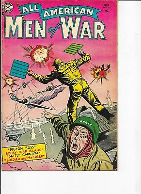 All American Men of War  #14   Heath art