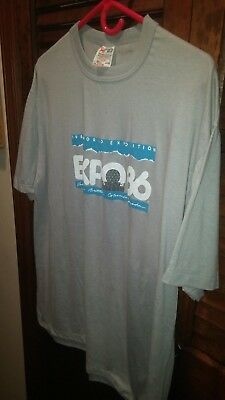 Expo 86, Size XL, World's Fair 1986, Vancouver, NWOT, Nice!