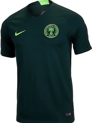 54c120c4183 NWT Nike Nigeria World Cup 2018 Away Jersey Soccer 893885 397 Mens Size  Large